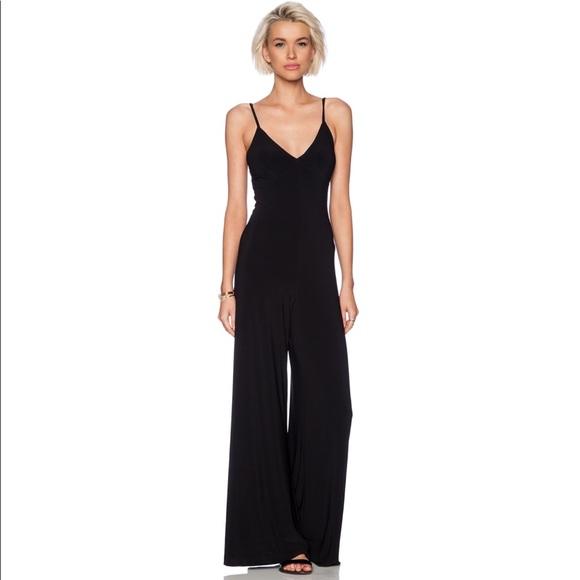 518ac396f7f Norma Kamali • Black Slip Jumpsuit NWT